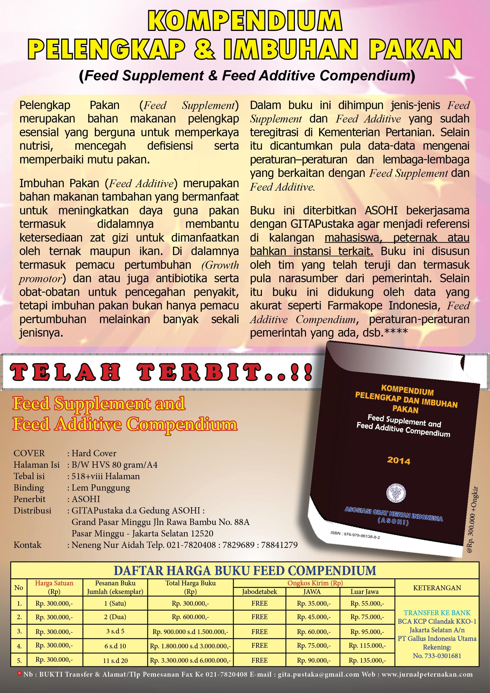 IKLAN BUKU FEED COM PENDIUM 2014